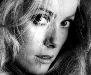 black & white and catherine deneuve image
