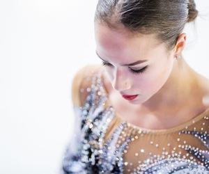 figure skating and alina zagitova image