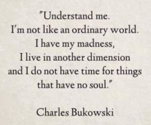 charles bukowski, words, and different image