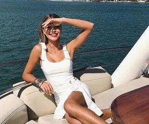 amazing, beauty women, and white dress image