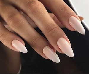 manicure, french manicure, and ombre image