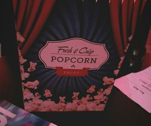 bff, popcorn, and friday image
