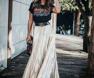 ac dc, outfit, and fashion image