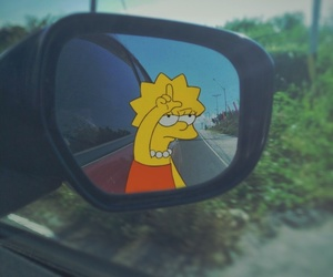 car, car mirror, and funny image
