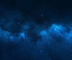 stars, blue, and sky image
