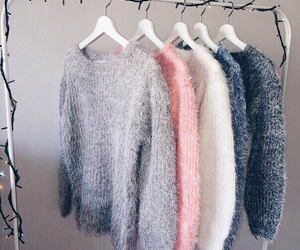 fashion, sweater, and clothes image