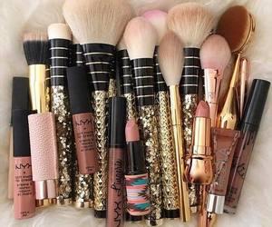 lipstick, makeup, and beauty image