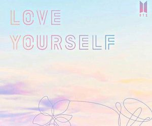 bts, love yourself, and wallpaper image