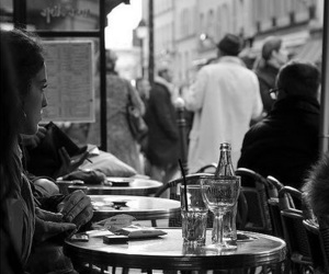 paris, cafe, and france image