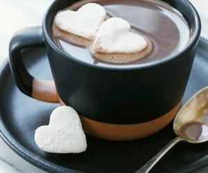 coffee, heart, and food image