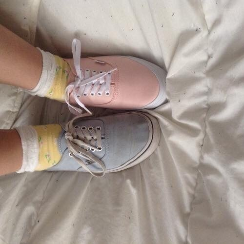 pastel, pink, and shoes image