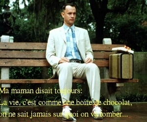 french, quotes, and forest gump image