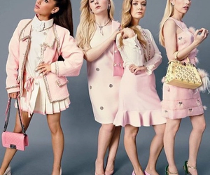 scream queens, ariana grande, and emma roberts image