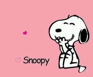 cute and snoopy image