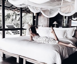 girl, bedroom, and home image