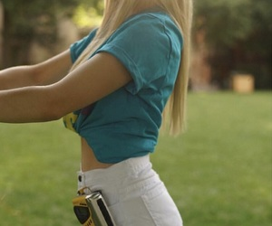 blonde, Modelling, and fringe image