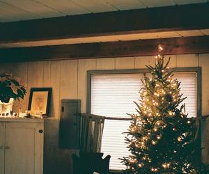 christmas, tree, and vintage image