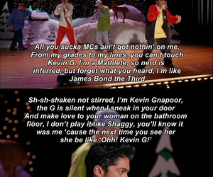 mean girls, funny, and kevin g image