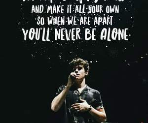 alone, be, and never image