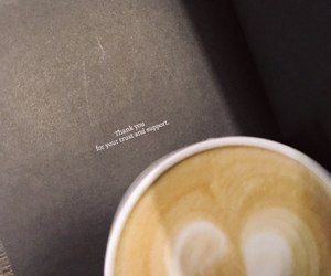 coffee, quotes, and trust image