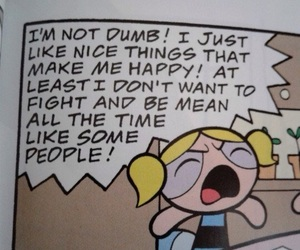 comic, powerpuff girls, and bubbles image