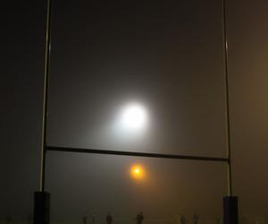 dark, nighttime, and field image