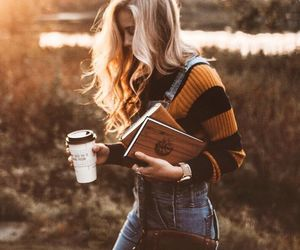 autumn, blonde, and style image