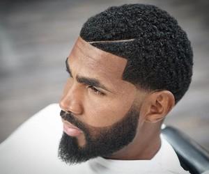 haircuts, hur, and black men image
