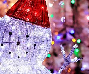 christmas, glow, and light image