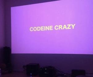 purple, codeine, and grunge image