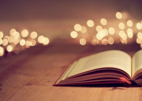 book and light image