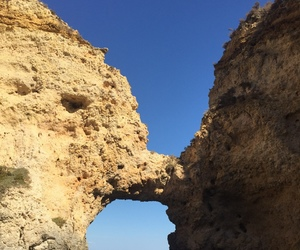 algarve, beautiful, and rocks image