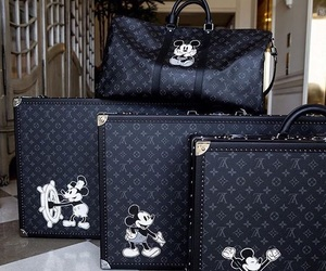 disney, Louis Vuitton, and mickey mouse image