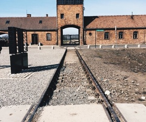auschwitz, vscocam, and germany image