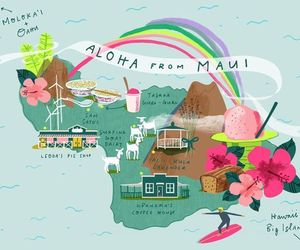 Aloha, art, and travel image