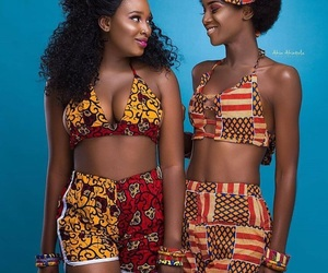 Afro, melanin, and afrocentric image