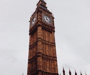 london, travel, and england image