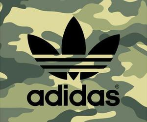 adidas, wallpaper, and camouflage image