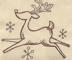 christmas, quote, and reindeer image