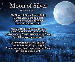 medieval, moon, and pagan image