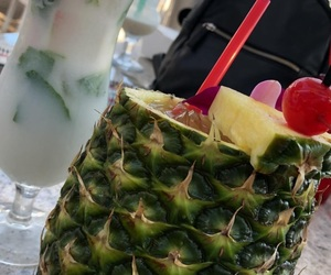 pineapples and pineapple drinks image