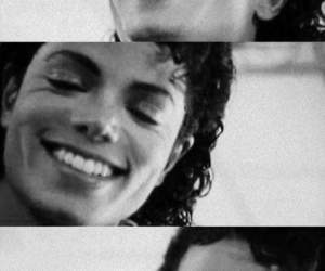 michael jackson, smile, and king of pop image