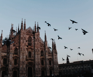 cities, milan, and travel image