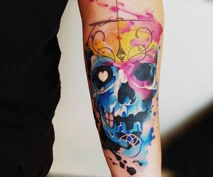 arm, cool, and skull image