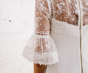 fashion, lace, and pure image