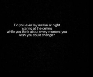 quotes, text, and night image