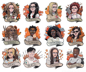 art and orange is the new black image