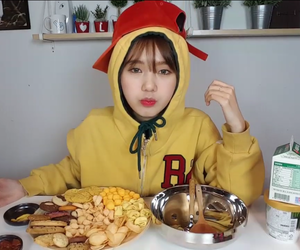 color, food, and kpop image