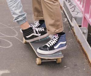 vans, grunge, and skate image