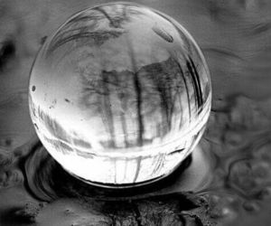black and white, water, and photography image
